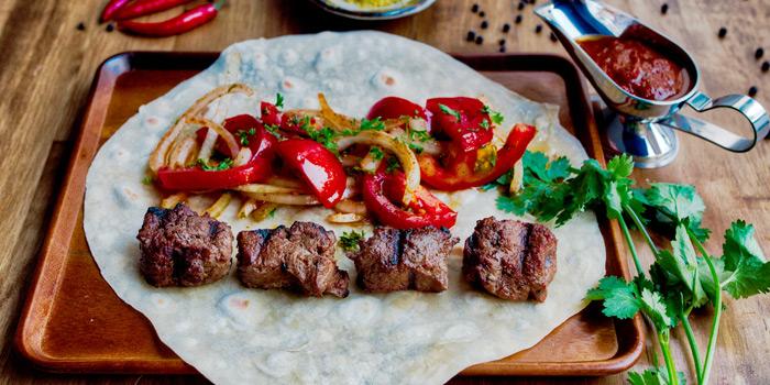 Pork Kebab from AVRA Authentic Greek Restaurant in Sukhumvit Soi 33, Bangkok