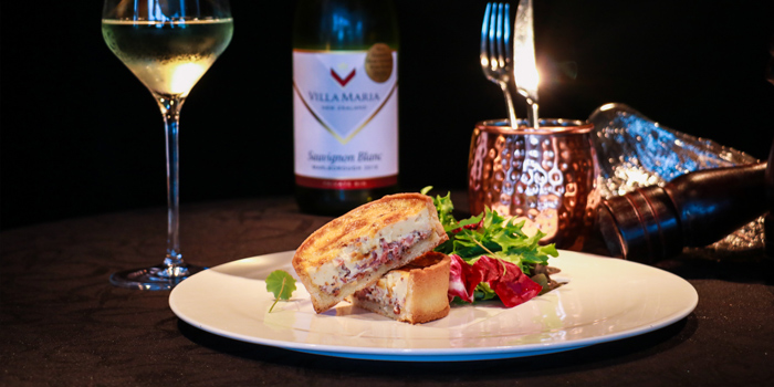 Quiche Lorraine with Fresh Salad, Prompt, Cyberport, Hong Kong
