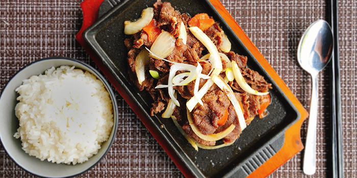 Beef Bulgogi from Ahtti Korean Restaurant at Vision Exchange in Jurong, Singapore