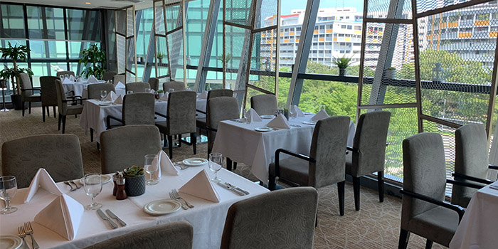 Interior of Amber West in Choa Chu Kang, Singapore