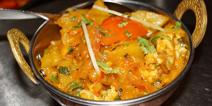 Aloo Gobi from Aromas of India in Little India, Singapore