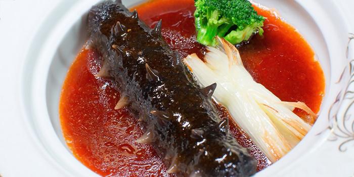 Sea Cucumber from Chunqiu Restaurant in Chinatown, Singapore
