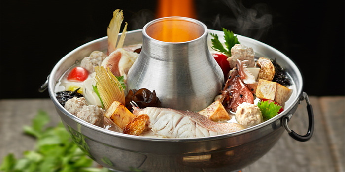 Fish Head Steamboat from Lai Bao Fish Head Steamboat 徕寶鱼头炉 in Toa Payoh, Singapore