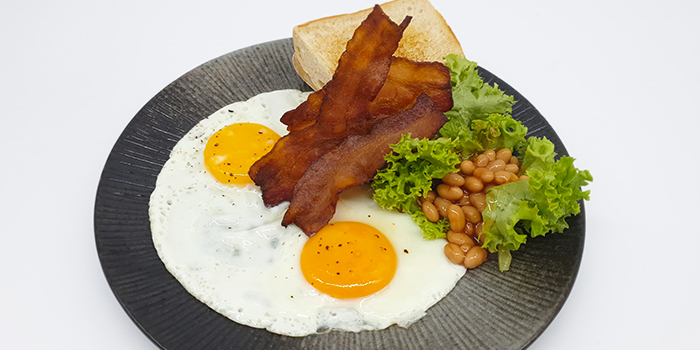 Breakfast Set from LanzaRote Cafe at High Street Centre in City Hall, Singapore