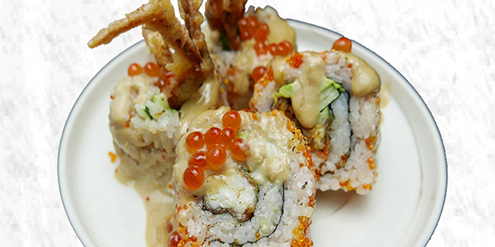 Maru Signature Roll from Maru Japanese Restaurant at ICON Village in Tanjong Pagar, Singapore