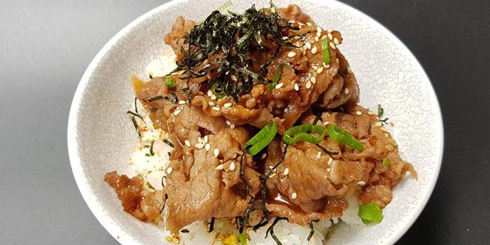 Unagi Meshi Don from Maru Japanese Restaurant at ICON Village in Tanjong Pagar, Singapore