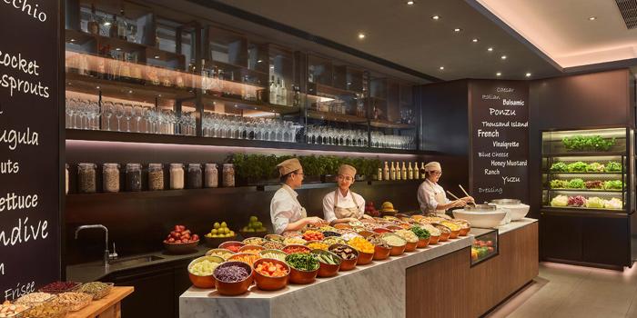 Salad Bar, The Lounge, Admiralty, Hong Kong