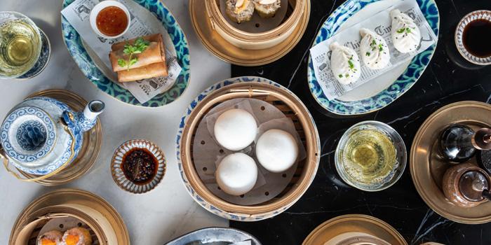 Selection of Food from Nan Bei at Rosewood Bangkok Hotel 1041/38 Ploenchit Road Lumpini, Pathumwan Bangkok