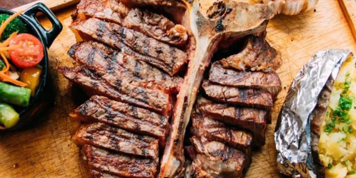 T Bone Steak, El Gaucho Argentinian Steakhouse, Central, Hong Kong