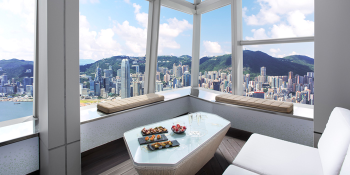 Terrace dayview, Ozone, Tsim Sha Tsui, Hong Kong