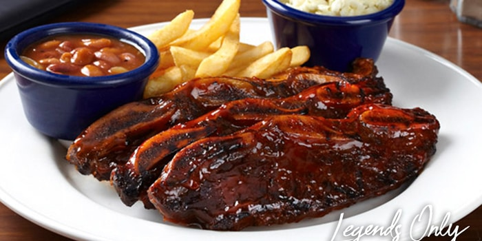 Grilled BBQ Short Ribs at Hard Rock Cafe, Jakarta
