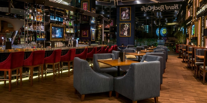 Interior at Hard Rock Cafe, Jakarta