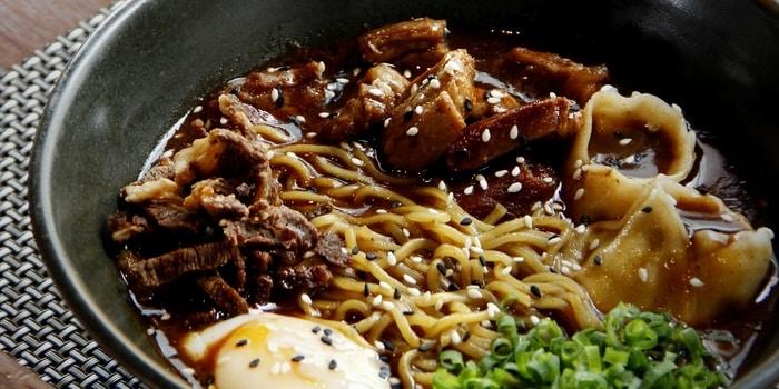 Spanish Lamb Noodle Soup at Sea Grain, DoubleTree Jakarta