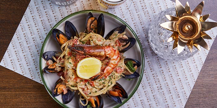 Seafood Linguine, FRITIES Belgium on Tap, North Point, Hong Kong