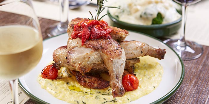 Rosemary Roast Chicken, FRITIES Belgium on Tap, North Point, Hong Kong