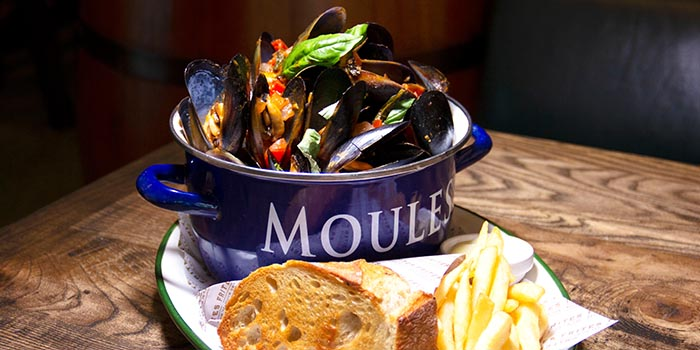 Provencale Mussels, FRITIES Belgium on Tap, North Point, Hong Kong