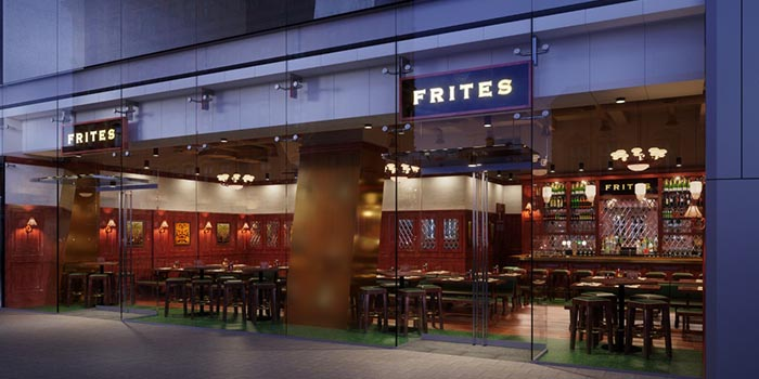 Shop Front, FRITIES Belgium on Tap, North Point, Hong Kong