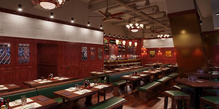 Dining Area, FRITIES Belgium on Tap, North Point, Hong Kong