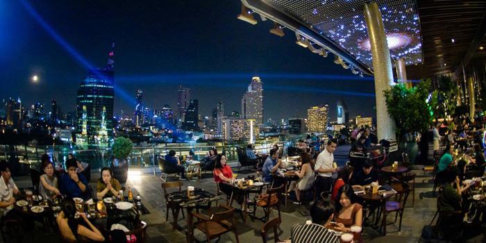 Ambience of HOBS ICONSIAM at 299 ICONSIAM 6 floors Tassananakorn Terrace, Charoennakorn rd, Klongsarn Bangkok