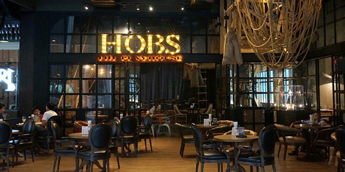 Ambience of HOBS the Play House at Groove, Central world 1fl Ratchadamri Road Pathumwan District Bangkok