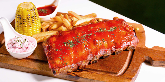 BBQ Pork Ribs from Haven