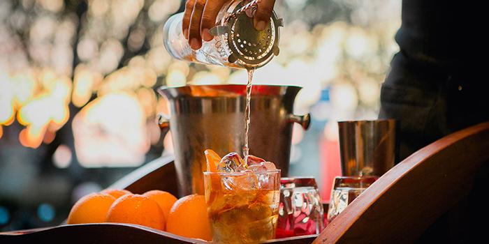 Cocktail from Rosso Vivo, Kuta, Bali