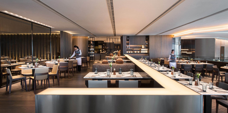 Dining Area, JW Cafe, Admiralty, Hong Kong