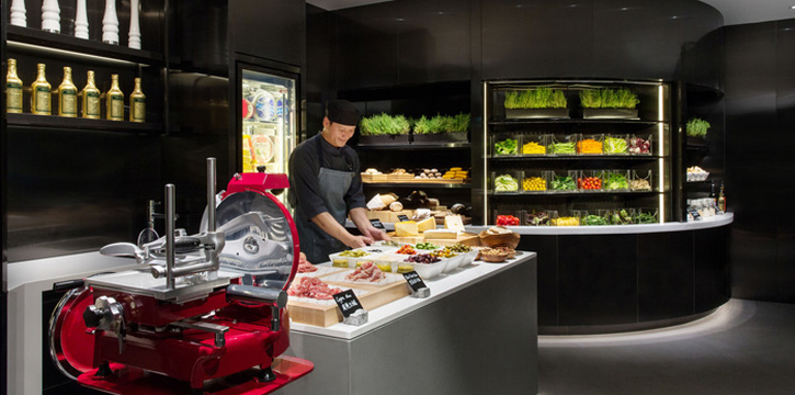 Salad and Cold Cuts Station, JW Cafe, Admiralty, Hong Kong