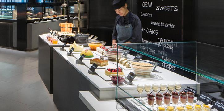 Dessert, JW Cafe, Admiralty, Hong Kong