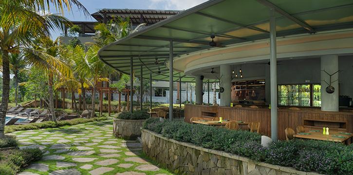 Interior from Tall Trees, Ubud, Bali