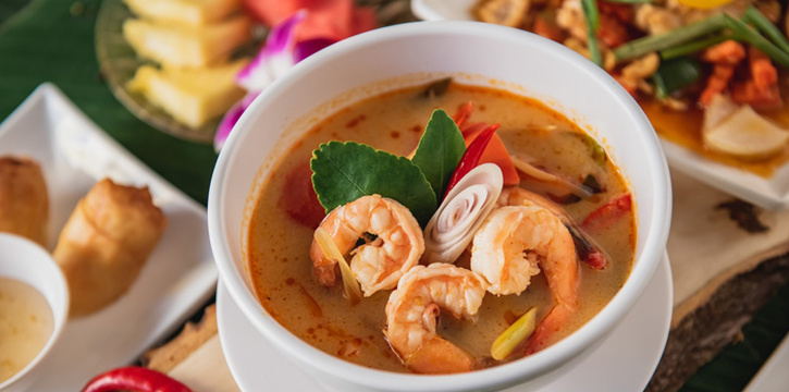 Food from Eurasian in Patong, Phuket, Thailand