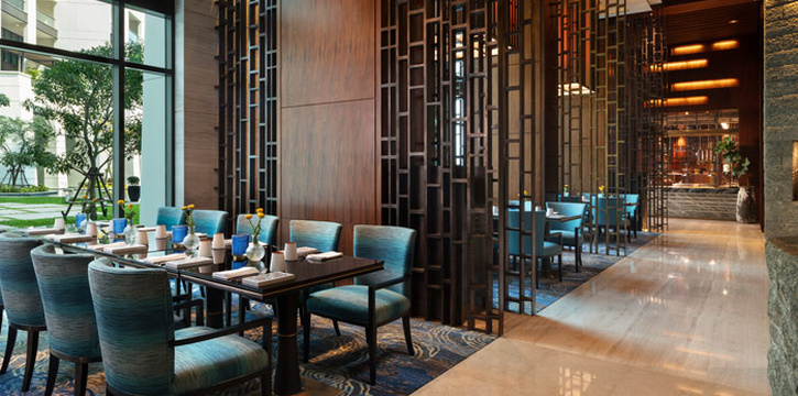 Ambience of ALATi at Siam Kempinski Hotel, Bangkok