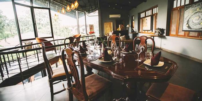 Dining Area of Vinifera Wine Bar and Restaurant at 201 Chokchai 4 soi 54 Ladprao, Ladprao Bangkok