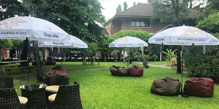 Outdoor Area of Vinifera Wine Bar and Restaurant at 201 Chokchai 4 soi 54 Ladprao, Ladprao Bangkok