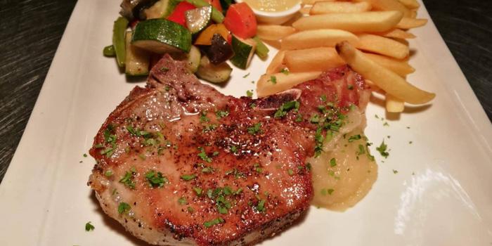 Pork Chop from Vinifera Wine Bar and Restaurant at 201 Chokchai 4 soi 54 Ladprao, Ladprao Bangkok