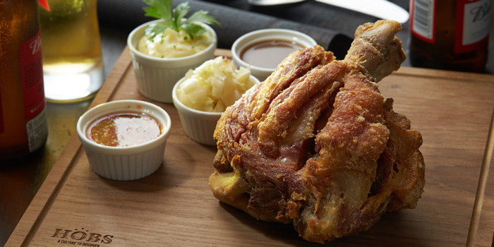 Crispy Pork Knuckle from HOBS the Play House at Groove, Central world 1fl Ratchadamri Road Pathumwan District Bangkok