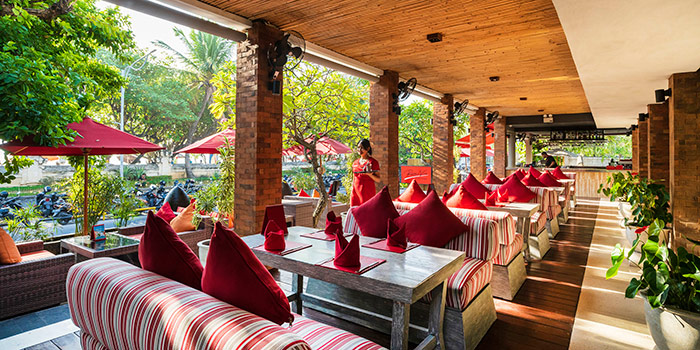 Exterior from Rosso Vivo, Kuta, Bali