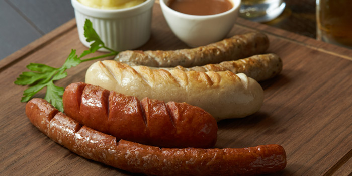 Sausages Platter from HOBS the Play House at Groove, Central world 1fl Ratchadamri Road Pathumwan District Bangkok