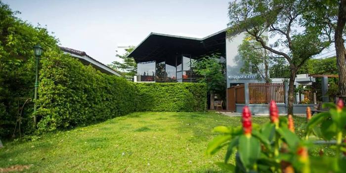The Garden of Vinifera Wine Bar and Restaurant at 201 Chokchai 4 soi 54 Ladprao, Ladprao Bangkok
