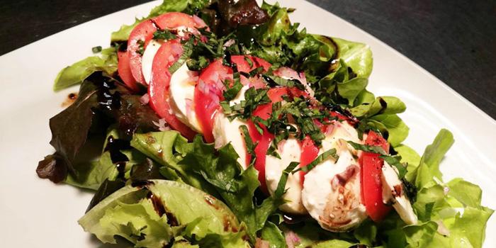 Tomato & Mozzarella Salad from Vinifera Wine Bar and Restaurant at 201 Chokchai 4 soi 54 Ladprao, Ladprao Bangkok
