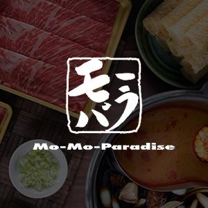 Logo at Mo-Mo Paradise (Senopati)