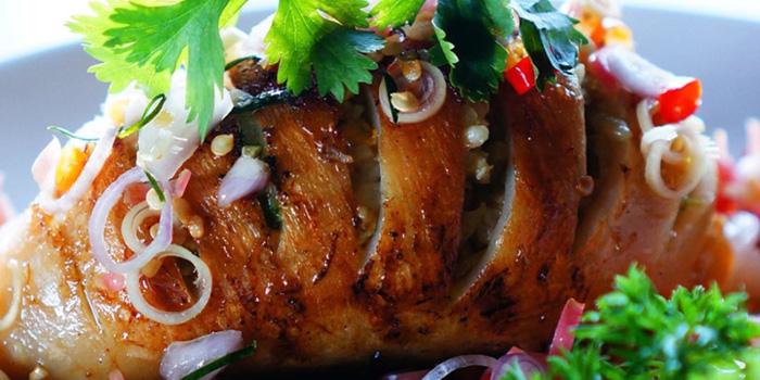 Stuffed Grilled Squid Sambal Matah at Anterograde Kitchen, Kelapa Gading