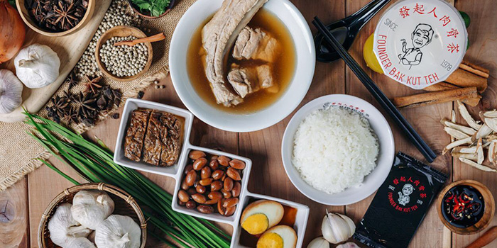 Founder Bak Kut Teh food delivery in Singapore