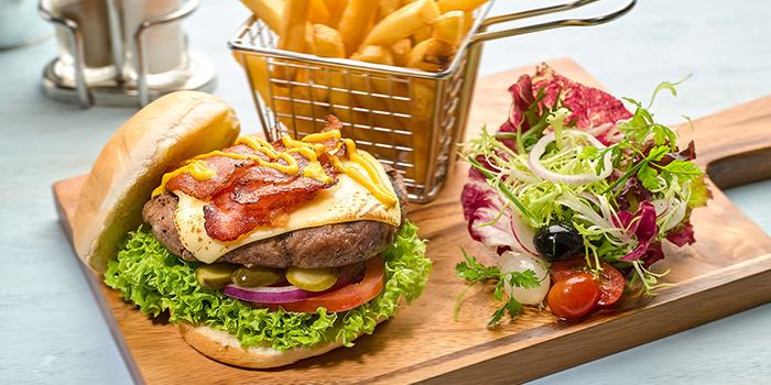 Chicken Grilled Burger from Boater