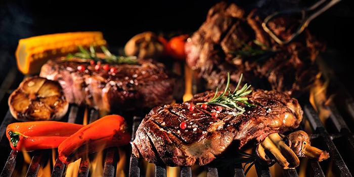 Grilled Meat from Boater