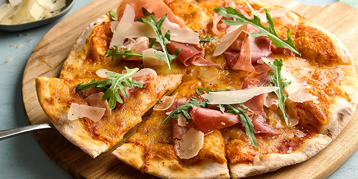 Parma Ham Pizza from Boater