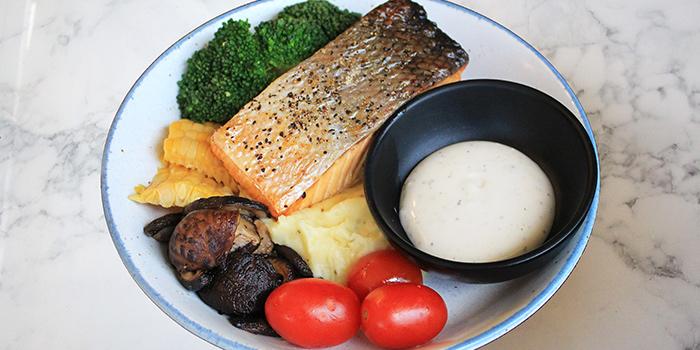 Baked Salmon from Good Bites at Bishan Sports Hall in Bishan, Singapore