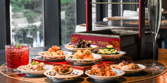 Appetizers, 1935 Restaurant, Central, Hong Kong