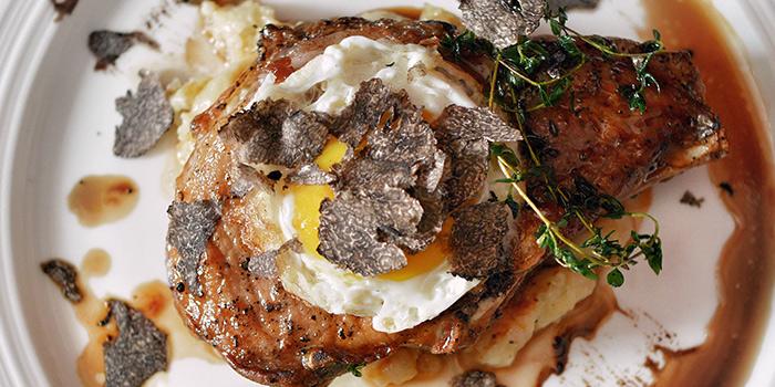 Kurobuta Pork Chop from Casa Tartufo in River Valley, Singapore
