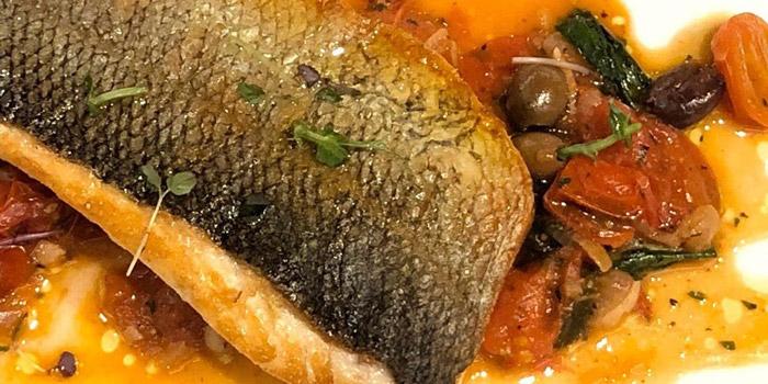 Oven roasted Italian seabass fillet, Crit Room, Sheung Wan, Hong Kong
